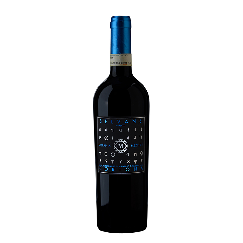 Selvans, vino rosso stefania mezzetti