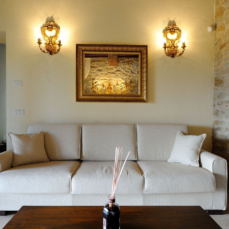 interno di villa fontanicchio
