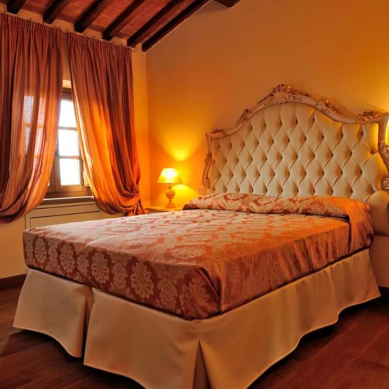villa fontanicchio, camera da letto