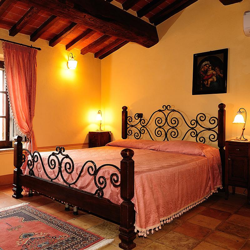 villa giulia, camera da letto